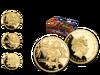Der ''Tyrannosaurus Rex'' auf einer offiziellen Goldmünze