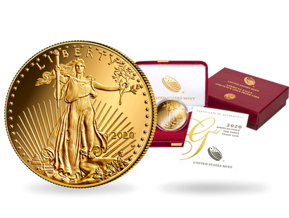 "USA 2020 ""Gold Eagle"""