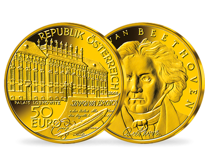50-Euro-Goldmünze 2005 ''Beethoven''