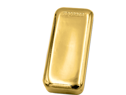 Dreifacher Flaschenöffner in Goldbarrenform