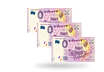 10er-Set 0-Euro-Scheine ''Happy Birthday'' (8,45 € pro Schein)