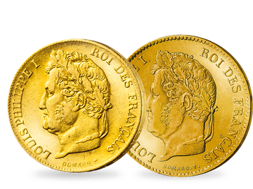 Frankreich 20 und 40 Francs 1831-1848 Louis Philippe I.