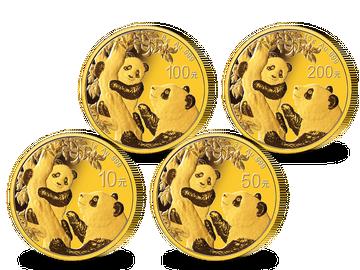 China: Gold-Panda-Premium-Set 2021