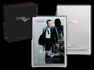 Offizielles Filmplakat als Silbernote