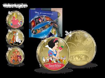 """""""Disney Classics"""" – die neue offizielle Kollektion mit 24-Karat-Vergoldung – Ihr Start: """"Schneewittchen""""!"""