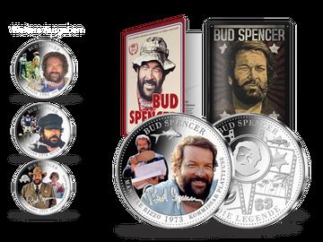 "Bud Spencer als Kommissar Plattfuß – Start in die Silber-Kollektion ""90 Jahre Bud Spencer""!"