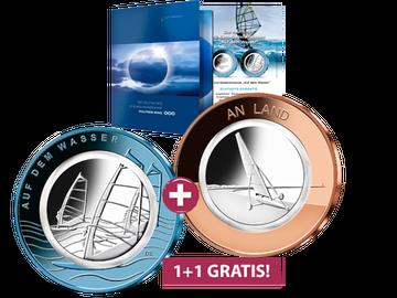 Die 10-Euro-Polymer-Gedenkmünzen der Serie