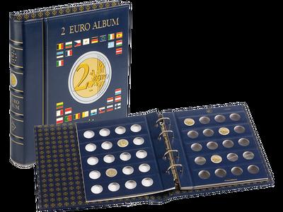 Das Münz-Album für 2 Euro Münzen