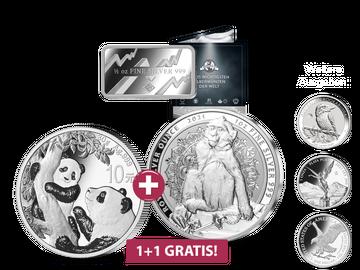 2 Münzen zum Preis von 1: