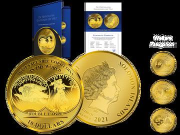 """Die größten 1/100-Unzen-Goldmünzen zum kleinen Preis – Startlieferung: """"Double Eagle""""!"""