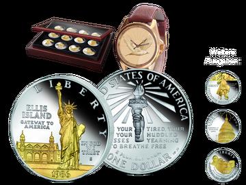 Silber-Dollars teilvergoldet: Ihre Startlieferung