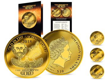 45 mm große Goldmünze (999.9/1000) – Ihr Start in die