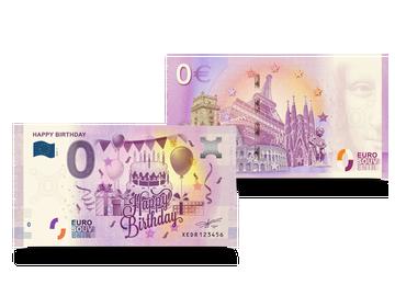 0-Euro-Souvenirschein