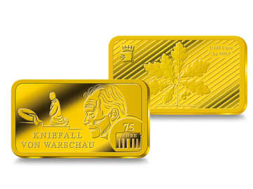 Goldbarren – 50 Jahre Kniefall von Warschau