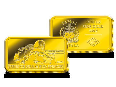 Die Gold-Barrenmünze
