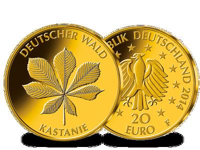 Die 20 Euro Goldmünze 2014