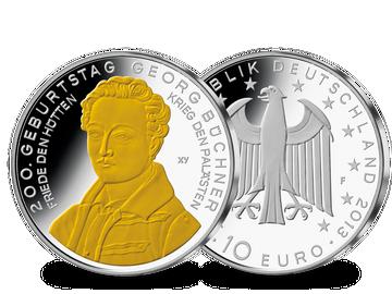 Die 10-Euro-Münze