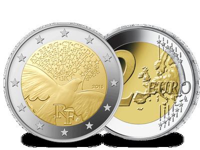 Die 2 Euro-Gedenkmünze