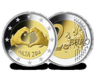 Malta 2016 2-Euro-Gedenkmünze 'Liebe'