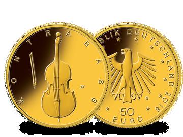 Die erste 50-Euro-Goldmünze aus der Serie