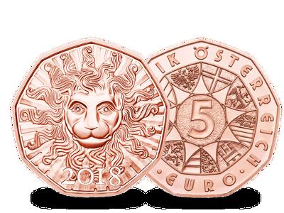 Österreich 2018 Neujahrsmünze