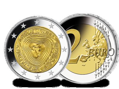 Die 2-Euro-Gedenkmünze aus Litauen 2019