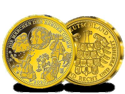 Die Märchen der Brüder Grimm - Goldprägung 2020