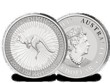 Silbermünze Australien
