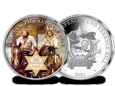 Die erste Silber-Jubiläumsausgabe zu 50 Jahre Terence Hill und Bud Spencer in