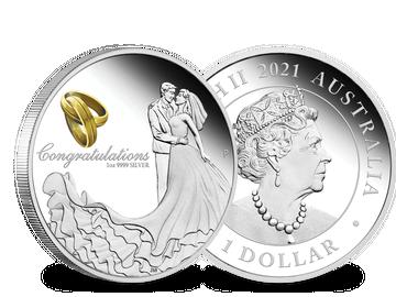Australien 2021 Silbermünze