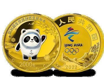 China – die gigantische Panda-Goldmünze zu Peking 2022!