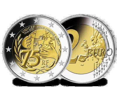 Frankreich 2021: 2 Euro Gedenkmünze