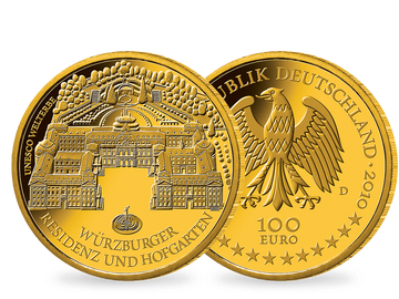100 Euro Goldmünze 2010