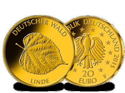 Die neue deutsche 20 Euro Goldmünze 2015