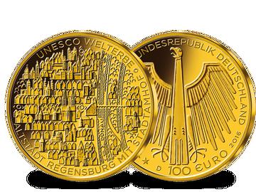 Der GOLD-EURO 2016: 100-Euro Goldmünze