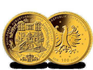 Bundesrepublik Deutschland 2018 100-Euro-Gold-Gedenkmünze