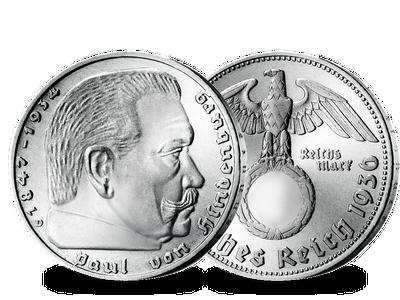 Die 2-Reichsmark-Silbermünze