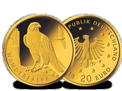 Die neue deutsche 20-Euro-Goldmünze