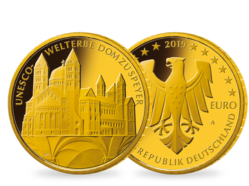 100-Euro-Goldmünze 'UNESCO Welterbe