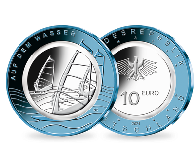 10-Euro-Münze 2021