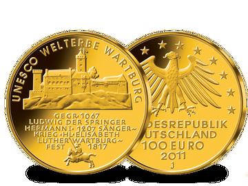 100 Euro Goldmünze 2011