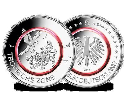 Die offizielle deutsche 5-Euro-Münze 2017