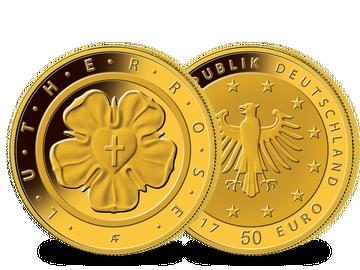Deutsche 50 Euro Goldmünze