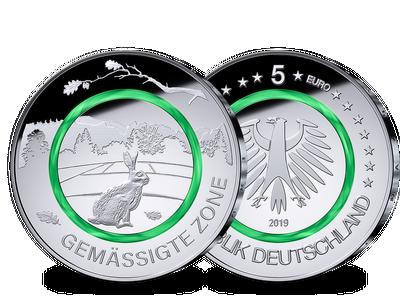 Deutsche 5-Euro-Münze 2019