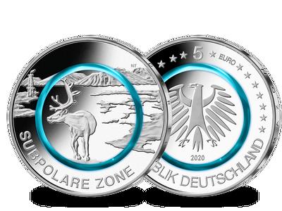 Deutsche 5-Euro-Münze 2020