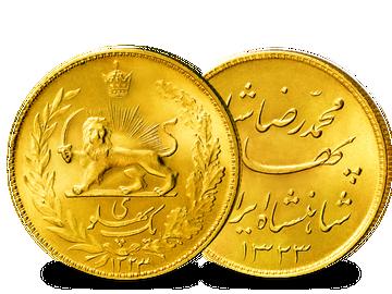 Persien 1 Pfund 1943-1945 Löwe