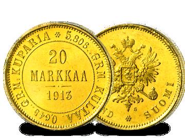 Finnland 20 Markkaa 1878-1913