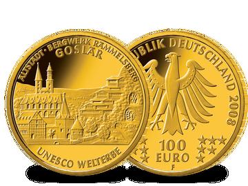 100 Euro Goldmünze 2008