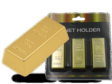 Anziehendes Gold: Magnet in täuschend echter Goldbarrenoptik