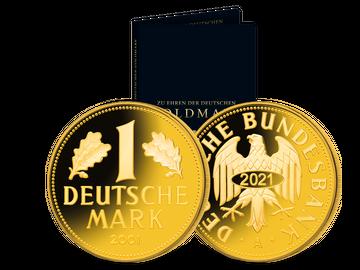 Neuprägung 'Goldmark von 2001'